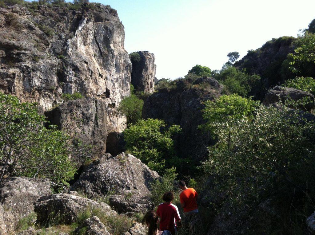 Ruta jurásica Monte Hacho