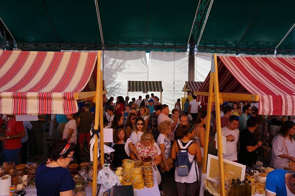 Feria del queso artesano de teba