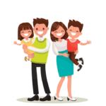 Familias con niños