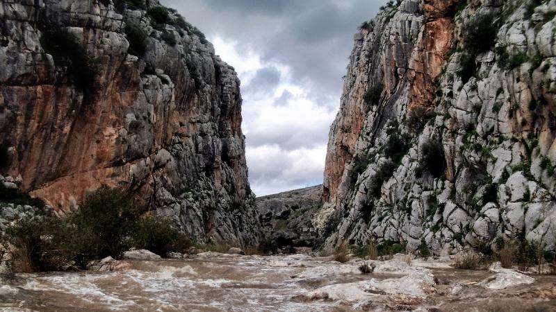 Ruta de senderismo en Teba