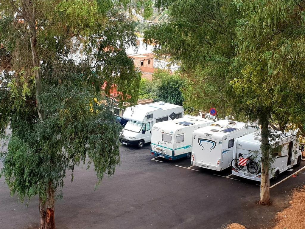 Parking autocaravanas en Álora