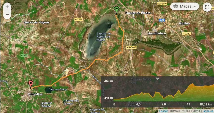 Fuente Piedra / Campillos GS 18 .GPX