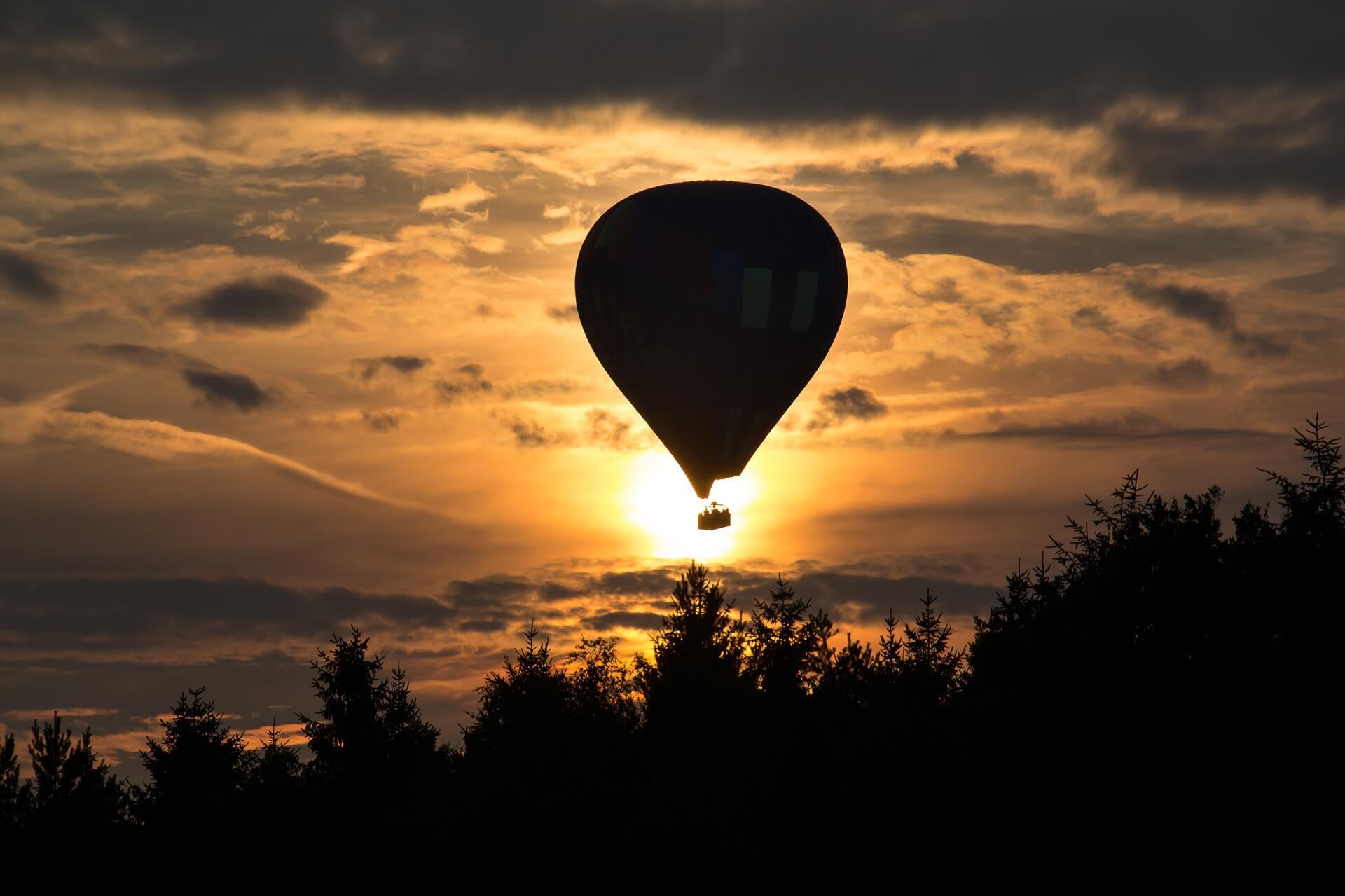 Volar en globo en antequera