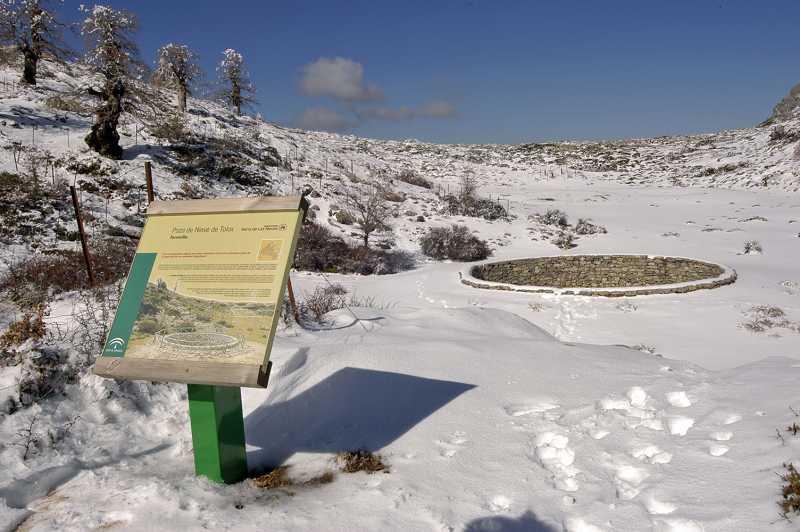 Neveros sierra de las nieves