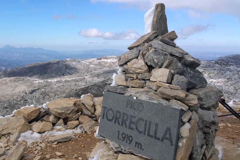 Pico torrecillas sierra de las nieves