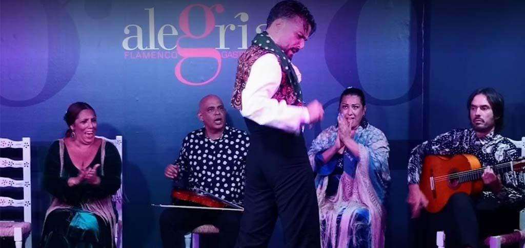 epectaculo flamenco en málaga